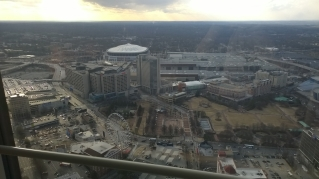 View from the Westin Atlanta, 60th Floor